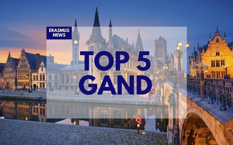 Top 5 des choses à faire à Gand